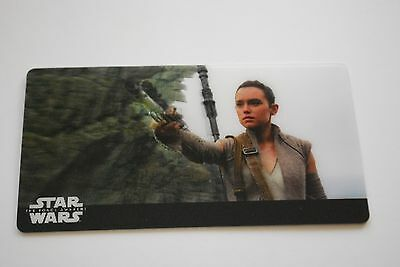 Topps Star Wars 3D Widevision The Missing Piece to FinThe Force Awakens Card #43