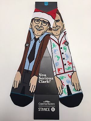 Stance Christmas Vacation Serious Jammies Socks National Lampoons Clark Griswold