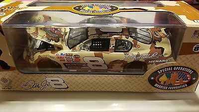 Dale Earnhardt Jr 2007 Camo Budweiser Bud 1/24 Winners Circle Diecast Car