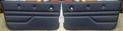 1987 - 1995 Jeep Wrangler YJ Door Panels...Custom Made in the USA....Black