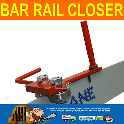 Chainsaw Chain Guide Bar Groove Rail Closer Tool New