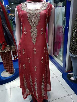 Latest Pakistani Party Dress - Maxi Style- NEW