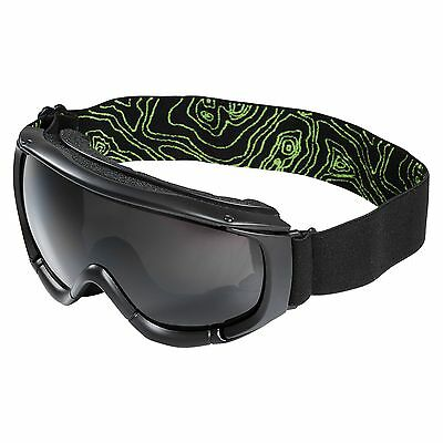Kathmandu Adults Anti Fog Skiing Snowboarding Sports Snow Goggles Black