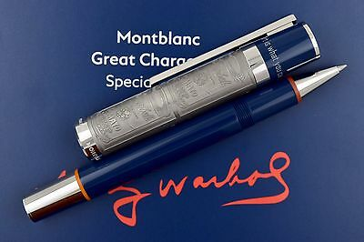 NEW Montblanc Great Characters Special Edition Andy Warhol Rollerball Pen 112717