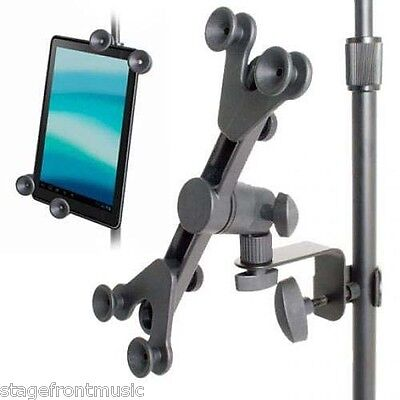 XTREME ADJUSTABLE UNIVERSAL iPAD/TABLET HOLDER FOR MIC & MUSIC STANDS - AP24