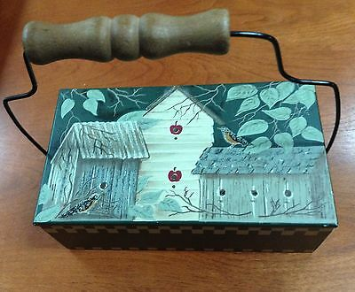 "Tender Heart Box With Handle 7 1/2"" X 3"" X 4 1/2"""