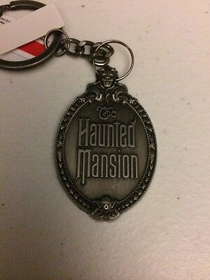 New Haunted Mansion Plaque Keychain - Disney Exclusive - Limited Avaliablity