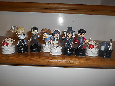 Clamp no Kiseki Chess Piece Lot Of 9 Pieces