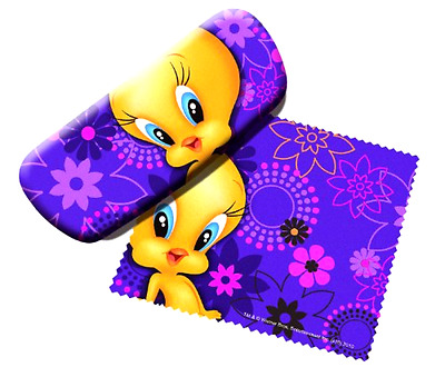 Cleaner and Eyeglass Accessory Case Looney Tunes Tweety Bird Character Design
