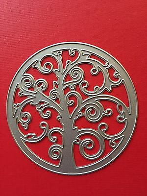 NEW• TREE of LIFE CIRCLE DIE For Use With Cuttlebug Or Sizzix