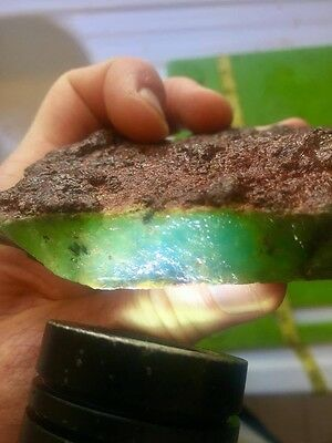 Natural Uncut Australian Chrysoprase Rough Crystal Chalcedony 343 grams