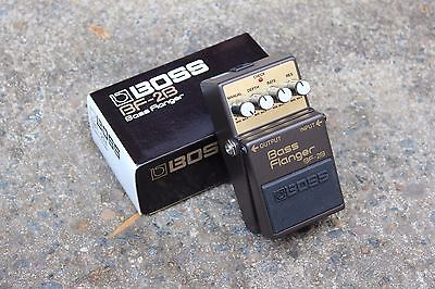 1989 Boss BF-2B Bass Flanger Vintage Effects Pedal w/Box
