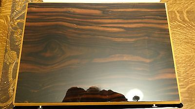 NOS Rare Find S.T. DUPONT Large Lacquered Wood Cigar Humidor 40x28x10cm FRANCE
