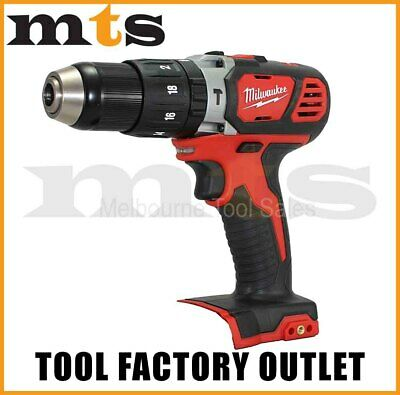 "Milwaukee 18V Cordless M18Bpd / 2607-20 Compact 1/2"" Hammer Drill / Driver"