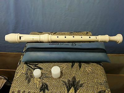 Yamaha YRA-28B II Alto Recorder Ivory colour with bag and accessories