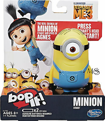 Bop It Despicable Me Bop It Minion * Brand New in Box * Despicable Me 3