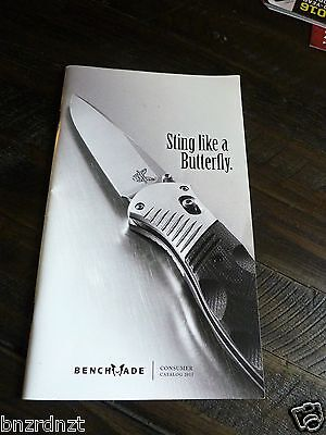 """2011 Benchmade Knives """"Sting Like  A Butterfly""""  Consumer Catalog. 72 Pages"""