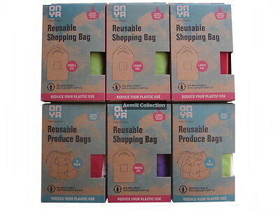 Onya Reusable Shopping & Produce bags multi-use grocery environmentally friendly