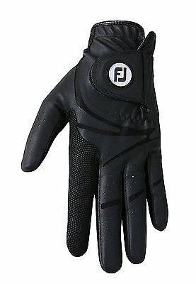 Footjoy GTxtreme Left-Handed Golf Mens Glove For Right Handed Golfer, Black, S