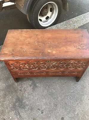 Court Oak Coffer