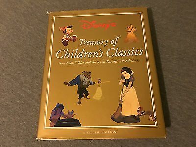 DISNEY'S TREASURY OF CHILDRENS CLASSICS BOOK ~Special Edition~ 22 Stories 1997!