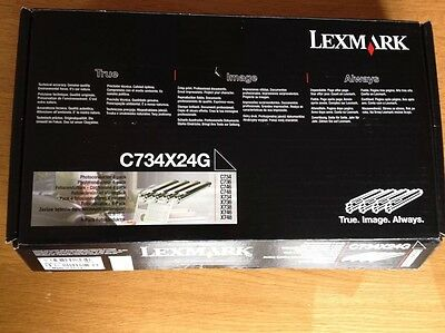 Lexmark Photoconductor Unit Pk 4 C734X24G