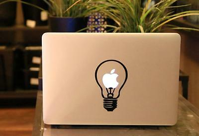 "Bulb Vinyl Decal Sticker Skin For Laptop MacBook Pro/Air 11'' 12"" 13'' 15'' 17''"