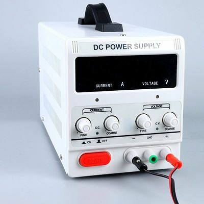 Awesome! New Variable Adjustable Lab DC Bench Power Supply 0-30V 0-5A