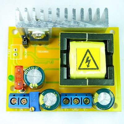 DC-DC 8~32V to 45~390V Voltage Boost Converters ZVS Step-up Booster Module New