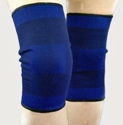 1 Pair Outdoor Sports Elastic Kneepad Football Basketball Volleyball Knee Pads A