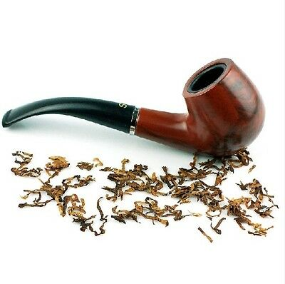 Durable Wooden Pipe Smoking Tobacco Cigar Pipes Cool Gift Stand Holder Present A
