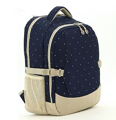Diaper Bag Backpack with Insulated Bottle Pockets and Stroller Buckle