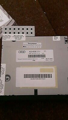 Genuine Audi Q7 6 Disc Cd Changer