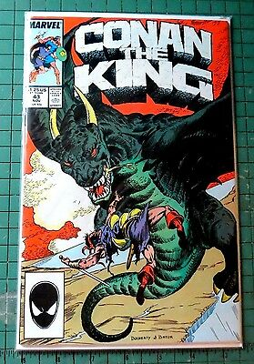Conan The King #43 Marvel Comics Copper Age  CB849