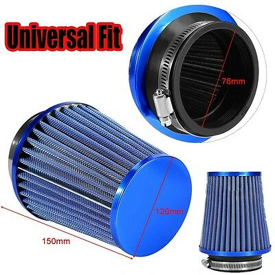 High Quality Round Cone Finish Car Air Filter Induction Kit High Power Universal