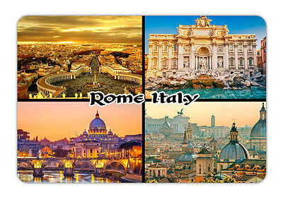 "Italy Rome Travel Souvenir Photo Fridge Magnet Big Size 3.5""X2.4"""