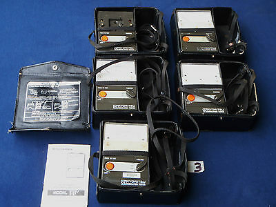 5 x Kyoritsu 3111V/Analogue/Insulation/Continuity/Tester/Test/Meter/Meters