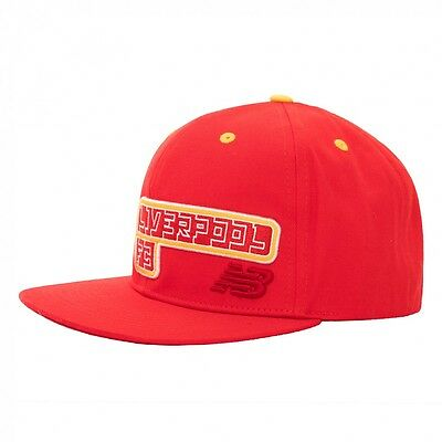 LIVERPOOL FC OFFICIAL NEW BALANCE RED KOP CAP Adult BNWT UNBELIVERPOOL!