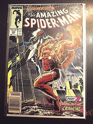 Amazing Spider-Man #293 Kraven's last hunt part 2 Crawling VF Newsstand edition