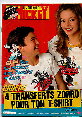 journal de MICKEY N°1722 douchka 1985  BE