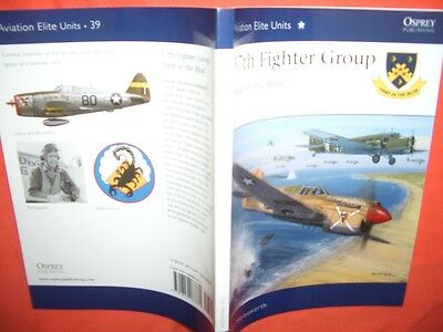 Osprey Aviation Elite Units 39, 57th FIGHTER GROUP First in the Blue