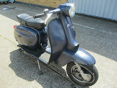 Lambretta Serveta 125 Cc In Original Conserved Condition