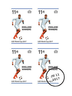 Limited Edition U20 World Cup stamps inspired by Gentleman's 1966 design.