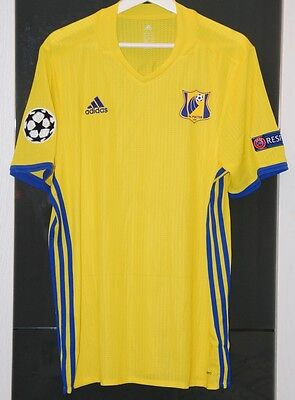 Rostov (Russia) Match Worn Shirt Champions League Spain Real Madrid Bayern Psv