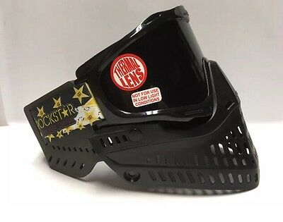 NEW JT Proshield 2.0 Black Thermal Spectra Paintball Mask Goggle Proflex Ears