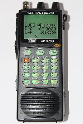 AOR AR8200MK3 Handheld Communications Receiver Scanner Radio HF VHF UHF BOXED