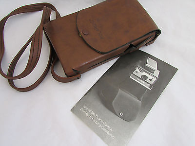 Vintage EVER READY Vinyl Carrying Case for Polaroid SX-70 Land Camera