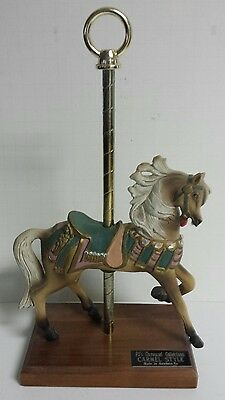 "PJ's Carousel Collection Carmel Style Horse ""Wings"" - Newberry VA - Free Ship"