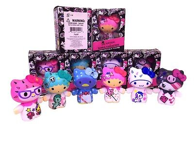 SANRIO CHARCTERS Hello Kitty Graffiti Edition tokidoki 6 Figures Doll Set 2