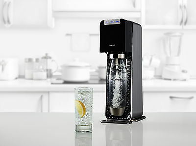 Power black (Electric) +Gas +4 flavours +3 yr warranty Official SodaStream Store